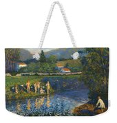 Bathing In Renteria Weekender Tote Bag