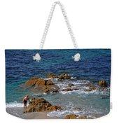 Bathing In The Sea - La Coruna Weekender Tote Bag