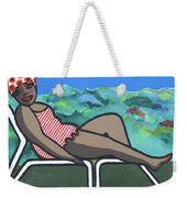 Bathing Suit 3 Weekender Tote Bag