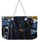 Batmobile And Batman Weekender Tote Bag by Tommy Anderson