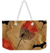 Bats And Roses Weekender Tote Bag