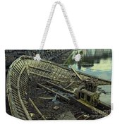 Battered Boat  Weekender Tote Bag