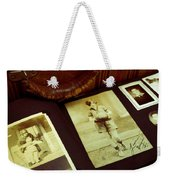 Battered Suitcase Of Antique Photographs Weekender Tote Bag