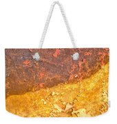 Battered To Rust Weekender Tote Bag