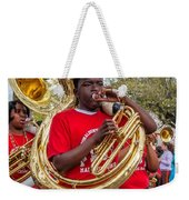 Battered Tuba Blues Weekender Tote Bag