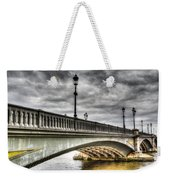 Battersea Bridge London Weekender Tote Bag