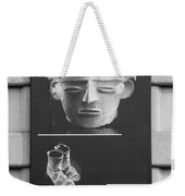 Battery Park Art In Black And White Weekender Tote Bag