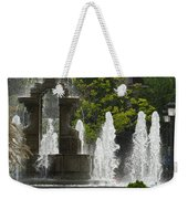 Battle Fountain Weekender Tote Bag