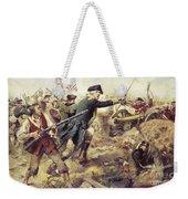 Battle Of Bennington Weekender Tote Bag by Frederick Coffay Yohn