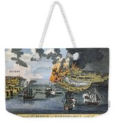 Battle Of Bunker Hill, 1775 Weekender Tote Bag