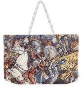 Battle Of Fornovo, Illustration Weekender Tote Bag