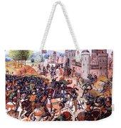 Battle Of Nevilles Cross 1346 Weekender Tote Bag