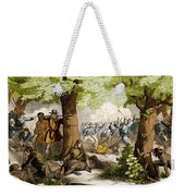 Battle Of Oriskany, 1777 Weekender Tote Bag