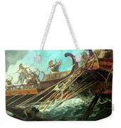 Battle Of Salamis, 480 Bce Weekender Tote Bag