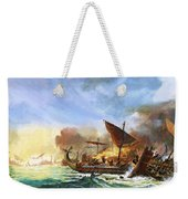 Battle Of Salamis Weekender Tote Bag