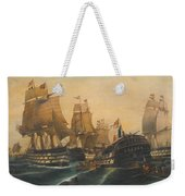 Battle Of Trafalgar Weekender Tote Bag