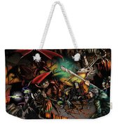 Battle With The Undead Dragon Weekender Tote Bag