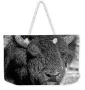 Battle Worn Bull Weekender Tote Bag