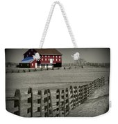 Battlefield Barn Weekender Tote Bag