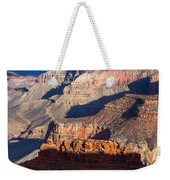 Battleship Rock At The Grand Canyon Weekender Tote Bag