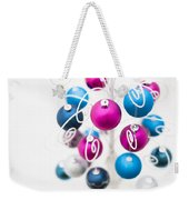 Baubles From Above Weekender Tote Bag by Anne Gilbert