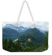 Bavarian Lake With Castle Weekender Tote Bag