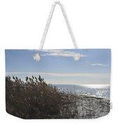 Bay Breeze In Winter Weekender Tote Bag