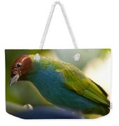 Bay-headed Tanager - Tangara Gyrola Weekender Tote Bag