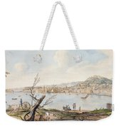 Bay Of Naples From Sea Shore Weekender Tote Bag