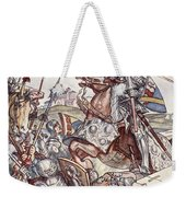Bayard Defends The Bridge, Illustration Weekender Tote Bag
