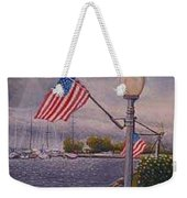 Bayfield On The 4th Weekender Tote Bag by Rick Huotari