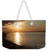 Bayville Sunset Weekender Tote Bag by John Telfer