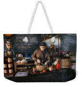 Bazaar - We Sell Tomato Sauce  Weekender Tote Bag