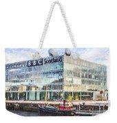Bbc Scotland Broadcasting Centre Glasgow Weekender Tote Bag