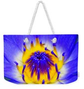 Blue Brilliance Number Two Weekender Tote Bag