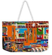 be a good friend to those who fear Hashem 11 Weekender Tote Bag by David Baruch Wolk