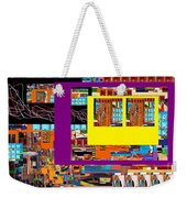 be a good friend to those who fear Hashem 12 Weekender Tote Bag by David Baruch Wolk