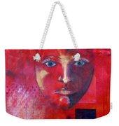 Be Golden Weekender Tote Bag by Nancy Merkle