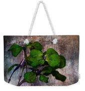 Be Green Weekender Tote Bag