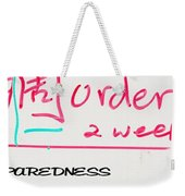 Be Prepared 21093 Weekender Tote Bag