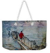 Be Still Weekender Tote Bag