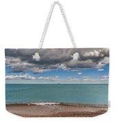 Beach And Ships. Weekender Tote Bag