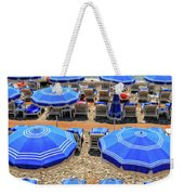Beach At Nice France Weekender Tote Bag