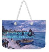 Beach At Saint Address Weekender Tote Bag
