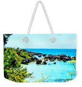 Beach At St. George Bermuda Weekender Tote Bag