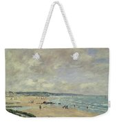 Beach At Trouville Weekender Tote Bag