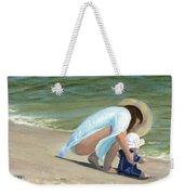 Beach Baby Weekender Tote Bag