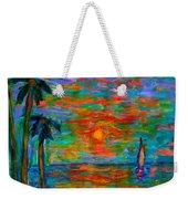 Beach Beauty Weekender Tote Bag