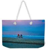 Beach Biking  Weekender Tote Bag
