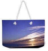 Beach Blue Sunset Weekender Tote Bag